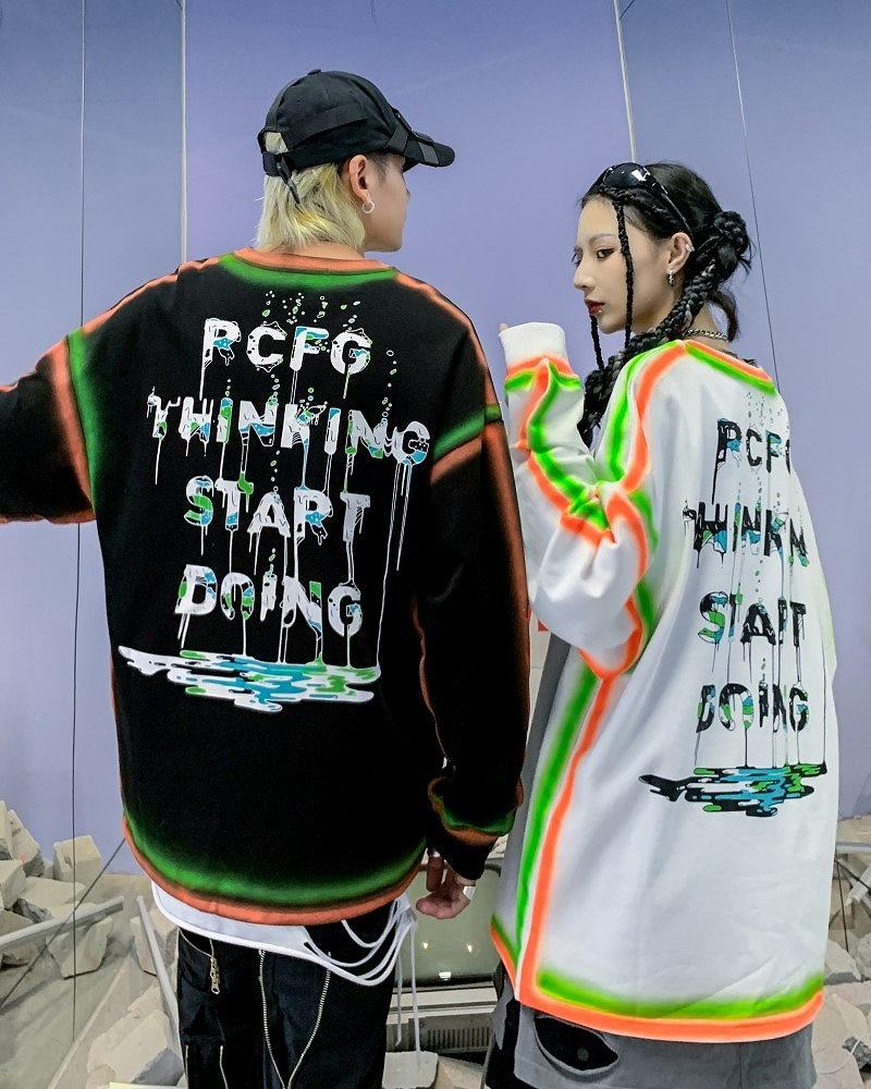 PCFGペインティングロングTシャツの画像3